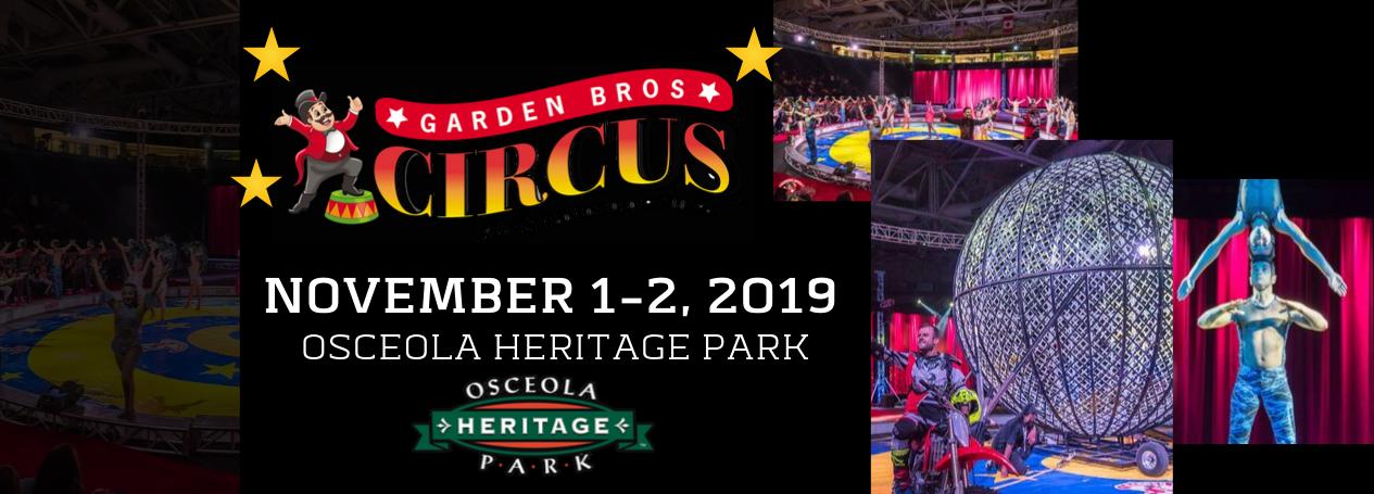 Garden Bros Circus Osceola Heritage Park